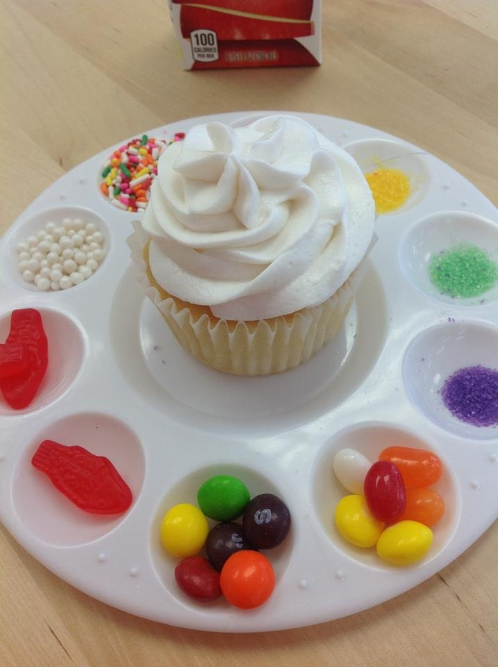 Cupcake Decorating Party Ideas : Piece of cake: how to throw a cupcake decorating party ...